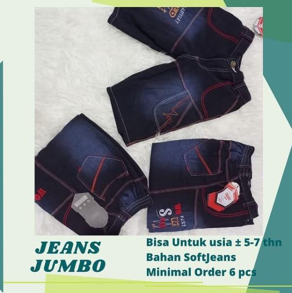 Jeans Jumbo Pendek